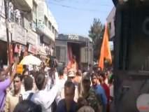 आमदार प्रताप पाटील-चिखलीकरांच्या राजीनाम्यासाठी शिवसैनिकांचे ढोल बजाओ आंदोलन