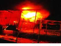 नांदेड जिल्ह्यात आगीचे सत्र