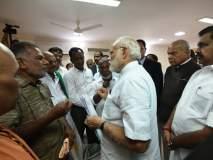 पंतप्रधान नरेंद्र मोदींनी घेतली कन्याकुमारी येथील 'ओखी'पीडितांची भेट