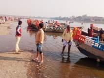 सोलापूरसाठी सोडलेले उजनीचे पाणी चंद्रभागा नदीत पोहोचले