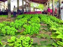 शेतमालाची आवक वाढल्याने बाजार समिती गजबजली