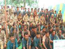 ६२ नक्षलवाद्यांनी केलेआत्मसमर्पण; पोलिसांकडे५१ देशी शस्त्रास्त्रे सोपविली