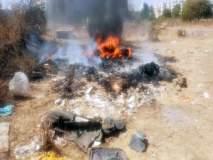 अनर्थ टळला : इंदिरानगर, वडाळागावात प्लॅस्टिक भंगार वस्तूंना आग