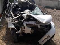 औरंगाबाद महामार्गावरील अपघातात दोन ठार, दोन जखमी
