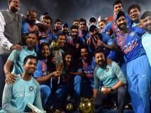 शेवटच्या चेंडूवर कार्तिकने मारला षटकार, भारताने जिंकला चषक