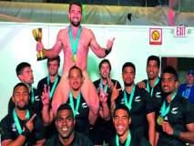 विश्वचषक जिंकताच खेळाडूंचे 'नग्न सेलिब्रेशन'