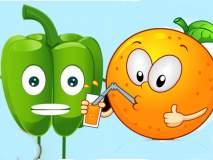 Health: संत्र गुणकारी की भोपळी मिरची भारी?... ठाऊक आहे का यांची खासियत?