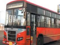 थांबलेल्या पीएमपी बसचे दोन टायर फुटले,दुर्घटना टळली