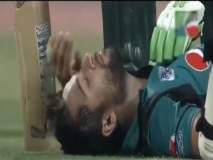 मैदानात डोक्याला लागला चेंडू, चक्कर येऊन खाली कोसळला 'हा' क्रिकेटपटू