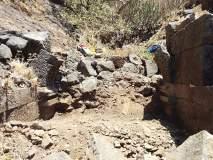 पळसगडावर सापडला चौथा दरवाजा