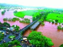 कोल्हापूर जिल्ह्यात महापूर; शिवाजी पूल बंद-जनजीवन विस्कळीत : पंचगंगेने धोका पातळी ओलांडली