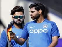 ICC World Cup 2019 : भुवी की पंत, इंग्लंडविरुद्ध रविवारी कोण खेळणार?