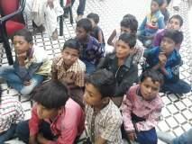 शिक्षकांसाठी कासापुरी शाळेतील विद्यार्थी थेट सीईओंच्या दालनात