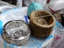 प्लास्टिक बंदीमुळे पारंपारिक पत्रावळी व्यवसायाला जीवनदान