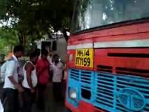 पाथर्डी-नगर बसच्या चालक, वाहकास मारहाण करून लुटले