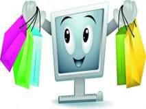 शहरात बाजारपेठा आॅफलाइन, आॅनलाइन खरेदीचा परिणाम
