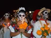 डे आॅफ द डेड! मेक्सिकोतली अनेक वर्षांपासूनची परंपरा