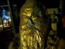 तामिळनाडूमध्ये पेरियार यांच्या पुतळ्याची मोडतोड