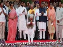 मिश्रण जुन्या-नव्यांचे; सर्वाधिक मंत्रिपदे यूपी-महाराष्ट्रात