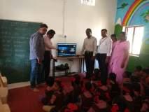 वाशिम जिल्हा परिषदेच्या शाळांमध्ये दाखविण्यात आला पंतप्रधानांच्या जीवनावरील लघुपट