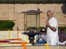 राष्ट्रपिता महात्मा गांधींची 148 वी जयंती, पंतप्रधानांनी वाहिली आदरांजली