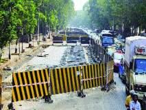 ध्वनी आणि वायू प्रदूषणानेही भरले शहर, उपनगरातील रस्ते