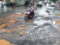 पाऊस थांबल्याने मुंबईत रस्त्यांच्या कामांना वेग