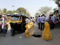 मुंबईच्या रस्त्यावर खड्डा नव्हे तर भगदाड, प्रवास न करण्याच्या सूचना