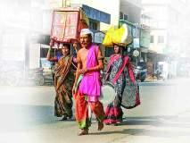 कामशेतमध्ये पोतराजांची पडली पालं; कर्नाटकातून कुटुंबासह दाखल, २५ वर्षांपासूनचा शिरस्ता