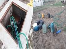हायड्रोलिक पंपचा वापर करून टेंभुर्णीत पेट्रोल पंपावर दरोडा