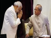 ... तर मोदींऐवजी प्रणव मुखर्जी होणार पंतप्रधान; RSS ची पर्यायी रणनीती