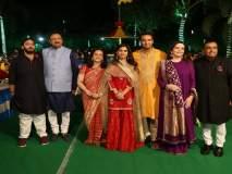 शाहरुखच्या गाण्यांवर अंबानी कुटुंबाने केला धमाकेदार डान्स!!