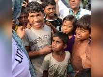 अभिनेत्री प्रियंका चोप्रानं बांगलादेशातील रोहिंग्यांच्या छावणीला दिली भेट