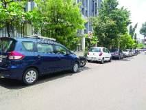 शहरात वाहनचालकांकडून पार्किंगच्या नियमांचे उल्लंघन