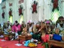 नाशिकमध्ये आत्महत्याग्रस्त कर्जबाजारी शेतकरी मुलामुलींच्या 101 जोडप्यांचा सामुदायिक विवाह