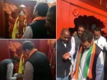 काँग्रेस अध्यक्ष बनल्यानंतर राहुल गांधी पहिल्यांदाच अमेठीत, टपरीवर घेतला चहाचा आस्वाद