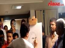 राज ठाकरेंनी अटलबिहारी वाजपेयींना चित्रातून वाहिली आदरांजली