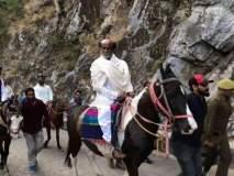 थलायवा रजनीकांत हिमालयाच्या यात्रेवर, घोडेस्वारीचे फोटो व्हायरल