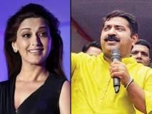 अभिनेत्री सोनाली बेंद्रेला श्रद्धांजली वाहणारं ट्विट केल्यानं आमदार राम कदम रडारवर