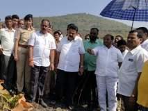 पर्यावरण मंत्री रामदास कदम यांनी केली आरेची पाहणी