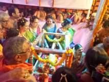 मुंबईतील वडाळा येथील राम मंदिरात रामजन्मोत्सव साजरा