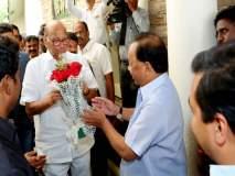 पवार-राणे भेटीत राजकीय साखरपेरणी, 'स्वाभिमान' महाआघाडीत दाखल होणार?