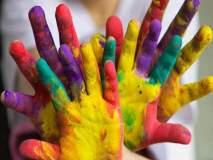 नाशिक: एच.आय.व्ही सहजीवन जगणाºया बाल-गोपाळांनी केली सप्तरंगांची उधळण