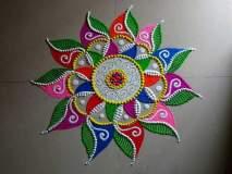 Diwali 2018 : रांगोळ्यांच्या या खास डिझाइन्स दिवाळी सेलिब्रेशनमध्ये भरतील वेगळे रंग!