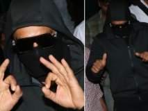 Pics : चेह-यावर मास्क घालून 'सिम्बा'चा लेट नाईट शो पाहायला पोहोचला रणवीर सिंग!!