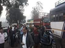रत्नागिरी : गायींची वाहतूक करणाऱ्यांवरकारवाई करा,ग्रामस्थांचा मुंबई-गोवा महामार्ग रास्तारोको