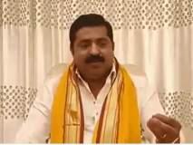 राम कदमांची नवी 'ऑफर'; जितेंद्र आव्हाडांनी शेअर केला व्हिडीओ