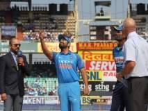 विशाखापट्टणम वनडे : भारताची नाणेफेक जिंकून प्रथम क्षेत्ररक्षण, श्रीलंकेला पहिला धक्का