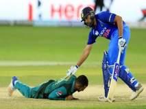 IND vs WI 4th ODI : पाकिस्तानच्या खेळाडूने घातले होते रोहित शर्मापुढे लोटांगण