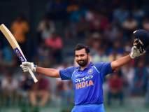 रोहित शर्माने 115 चेंडूत शतक पूर्ण केल्यानंतर फक्त 36 चेंडूत लगावलं द्विशतक